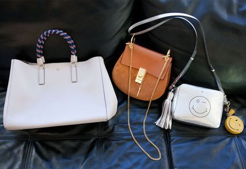 Product, Bag, White, Style, Fashion accessory, Shoulder bag, Leather, Fashion, Metal, Beauty,