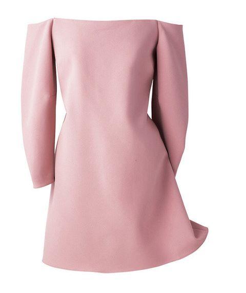 Pink, Waist, Beige, Peach, Costume accessory, Day dress, Silk, Satin,