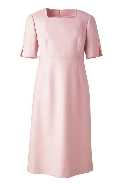 Sleeve, Dress, Textile, Pattern, Pink, One-piece garment, Fashion, Day dress, Maroon, Peach,