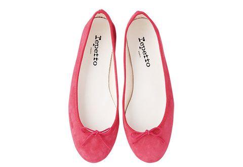 Carmine, Ballet flat, Synthetic rubber,