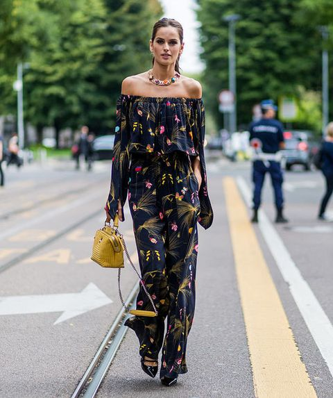 Street fashion, Fashion, Shoulder, Fashion model, Clothing, Yellow, Dress, Joint, Hairstyle, Haute couture,