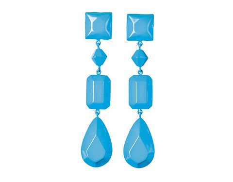 Aqua, Blue, Turquoise, Azure, Fashion accessory, Turquoise, Jewellery, Earrings,