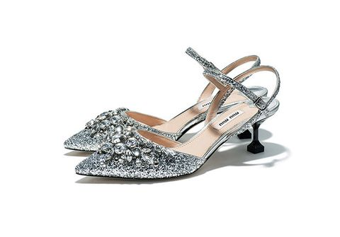 Footwear, Slingback, Sandal, Shoe, High heels, Mary jane, Silver, Bridal shoe, Dress shoe, Wedge,
