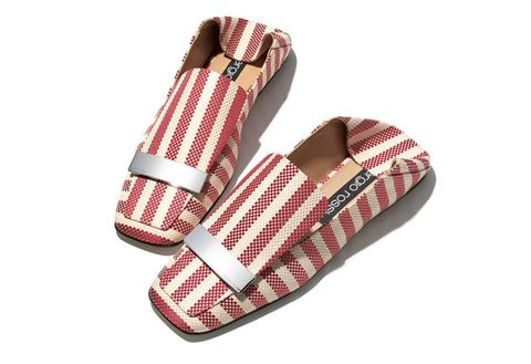 Footwear, Shoe, Product, Slipper, Font, Espadrille, Flip-flops, Pattern, Sandal, Plaid,