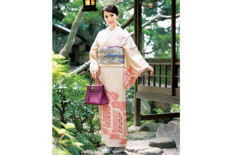 Kimono, Clothing, Costume, Figurine,