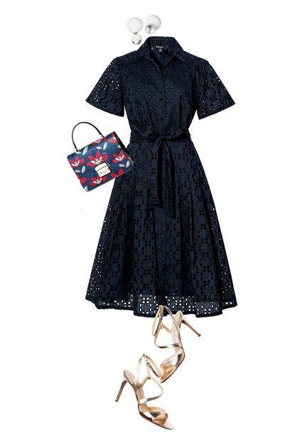 Clothing, Dress, Day dress, Little black dress, Sleeve, Footwear, Cocktail dress, Costume design, Fashion design, Robe,