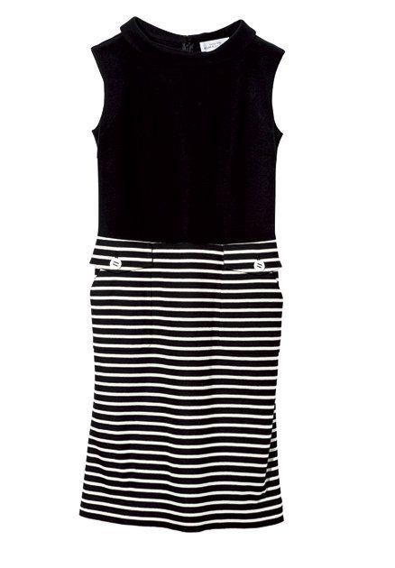 Clothing, White, Black, Day dress, Dress, Cocktail dress, Sleeve, Sleeveless shirt, T-shirt, Neck,