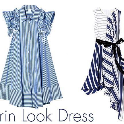 Blue, Textile, White, Style, One-piece garment, Pattern, Font, Electric blue, Dress, Azure,
