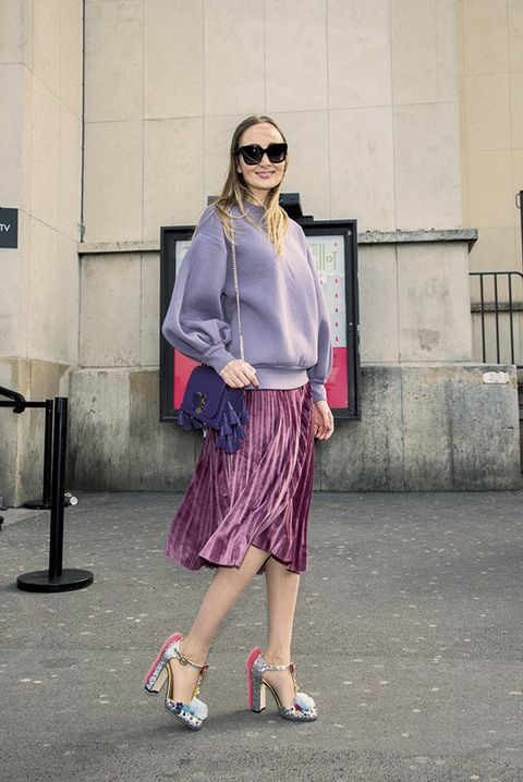 Clothing, Eyewear, Shoulder, Sunglasses, Textile, Outerwear, Fashion accessory, Bag, Pink, Style,