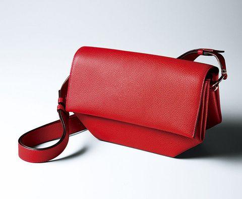 Bag, Handbag, Red, Messenger bag, Fashion accessory, Leather, Material property, Shoulder bag, Luggage and bags, Satchel,