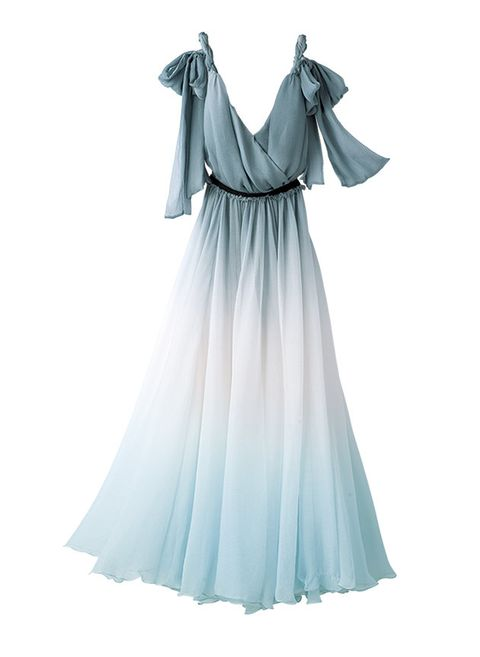 Clothing, Dress, White, Blue, Shoulder, Day dress, Aqua, Gown, Turquoise, Sleeve,