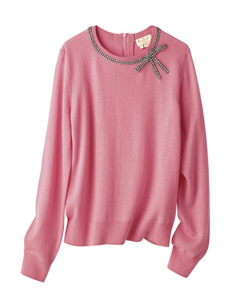 Clothing, Sleeve, Pink, Outerwear, T-shirt, Blouse, Neck, Long-sleeved t-shirt, Top, Collar,