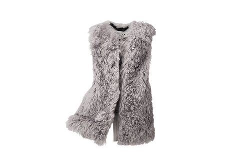 Clothing, White, Fur, Outerwear, Footwear, Grey, Sleeve, Fur clothing, Sweater, Cardigan,