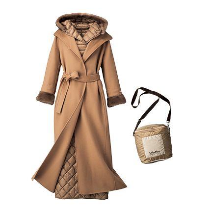 Clothing, Trench coat, Coat, Overcoat, Outerwear, Beige, Brown, Fashion, Hood, Handbag,