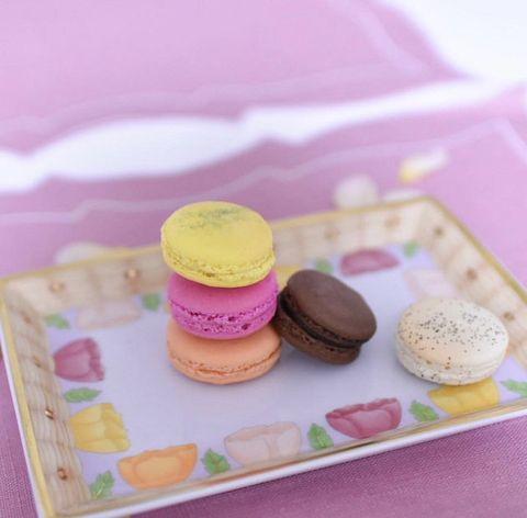 Macaroon, Food, Sweetness, Pink, Dessert, Biscuit, Cuisine, Baked goods, Baking, Sandwich Cookies,