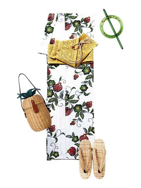 Home accessories, Basket, Bag, Illustration, Wicker, Present, Picnic basket, Creative arts, Shoulder bag, Storage basket,