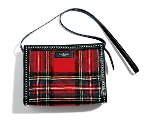 Tartan, Handbag, Bag, Plaid, Pattern, Design, Textile, Fashion accessory, Shoulder bag, Leather,