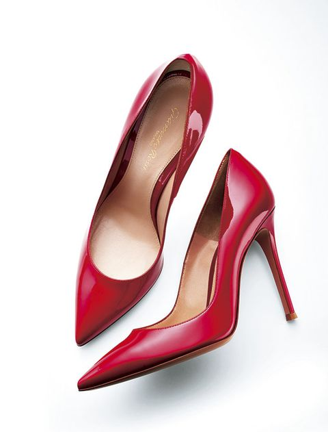 Footwear, High heels, Basic pump, Red, Pink, Court shoe, Shoe, Slingback, Bridal shoe, Magenta,