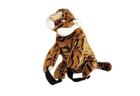 Bengal tiger, Tiger, Stuffed toy, Big cats, Felidae, Fur, Animal figure, Toy, Plush, Fashion accessory,