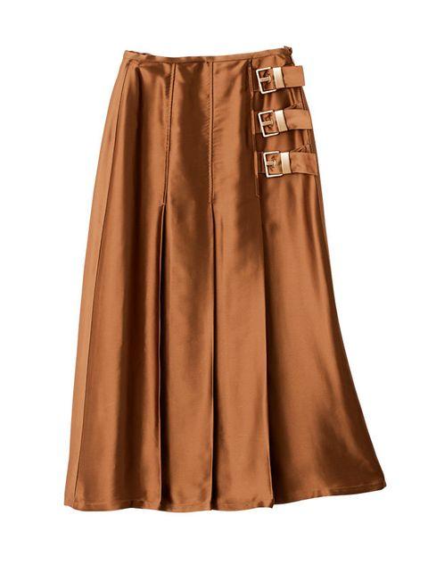 Clothing, Brown, A-line, Waist, Fashion, Beige, Pocket,