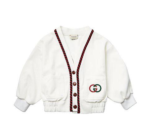 White, Clothing, Outerwear, Sleeve, Sweater, Sports uniform, Uniform, Jacket, Cardigan, Jersey,