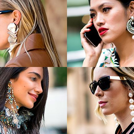 Ear, Hair, Lip, Eyewear, Hairstyle, Beauty, Organ, Nose, Fashion accessory, Street fashion,