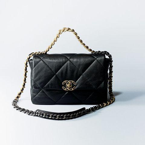 Bag, Handbag, Black, Fashion accessory, Chain, Leather, Product, Shoulder bag, Fashion, Silver,