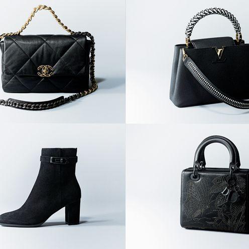 Bag, Handbag, Black, Fashion accessory, Product, Leather, Fashion, Shoulder bag, Font, Design,