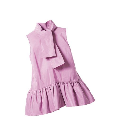 Clothing, Pink, Violet, Purple, Lilac, Outerwear, Magenta, Dress, Blouse, Textile,