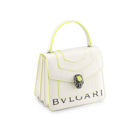 Handbag, Bag, Fashion accessory, Shoulder bag, Yellow, Tote bag, Beige, Luggage and bags, Brand,