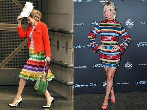 Clothing, Fashion, Street fashion, Dress, Footwear, Shoe, Sleeve, Fashion model, Pattern, Fashion design,