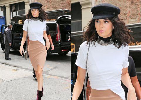 Clothing, White, Street fashion, Fashion, Waist, Hat, Shoulder, Footwear, Beauty, Snapshot,