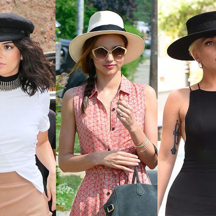 Clothing, Hat, Fedora, Street fashion, Fashion, Sun hat, Shoulder, Dress, Neck, Eyewear,