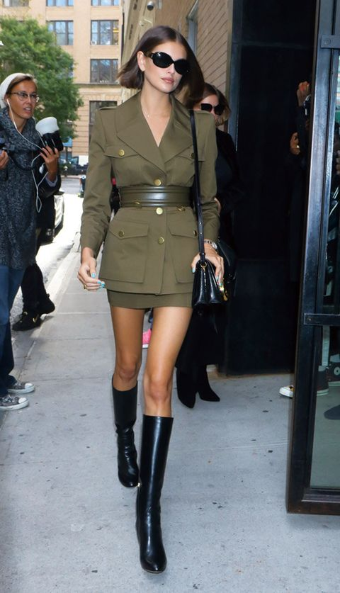 Clothing, Boot, Leg, Knee-high boot, Street fashion, Footwear, Thigh, Knee, Fashion, Joint,