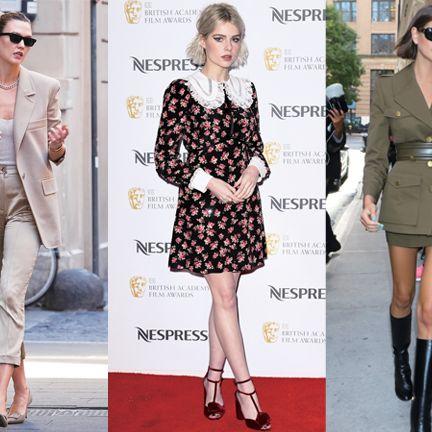Clothing, Fashion model, Fashion, Footwear, Street fashion, Dress, Leg, Knee, Ankle, Outerwear,