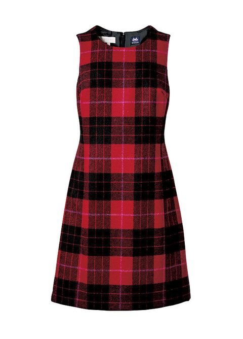 Clothing, Tartan, Plaid, Pattern, Day dress, Textile, Dress, Design, Cocktail dress, Kilt,