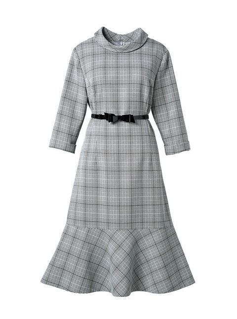 Clothing, Day dress, Dress, White, Sleeve, Pattern, Design, Cocktail dress, Plaid, Outerwear,