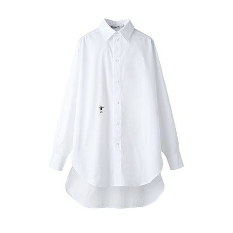 Clothing, White, Collar, Sleeve, Outerwear, Shirt, Blouse, Button, Neck, Top,
