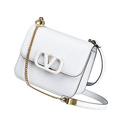 Bag, Handbag, White, Fashion accessory, Shoulder bag, Silver, Satchel, Leather, Beige, Messenger bag,