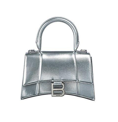 Bag, Handbag, Birkin bag, Fashion accessory, Silver, Material property, Leather, Shoulder bag, Kelly bag, Lock,