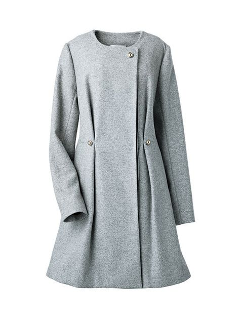 Clothing, Outerwear, Coat, Sleeve, Overcoat, Grey, Jacket, Trench coat, Top, Blazer,