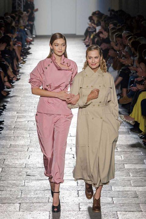 Footwear, Human body, Sleeve, Joint, Style, Fashion, Sandal, Waist, Beige, Fashion show,