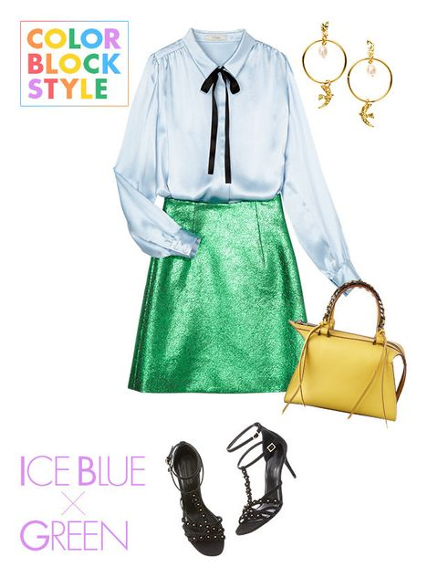 White, Clothing, Green, Yellow, Sleeve, Font, Blouse, Fashion accessory, Style,