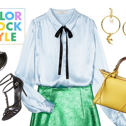 White, Clothing, Yellow, Blouse, Fashion, Footwear, Shirt, Sleeve, Street fashion, Outerwear,