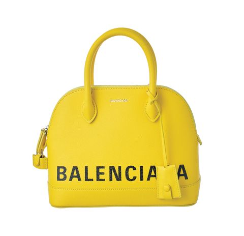 Handbag, Bag, Yellow, Fashion accessory, Shoulder bag, Material property, Luggage and bags, Tote bag,