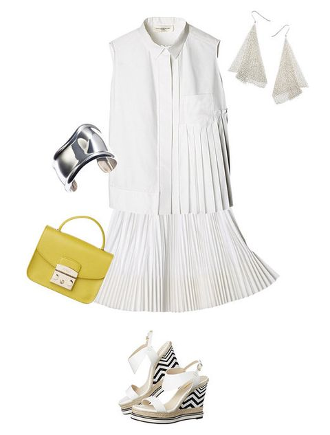 Product, Collar, Sleeve, Textile, White, Style, Bag, Fashion accessory, Pattern, Fashion,
