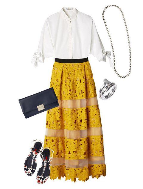 Product, Sleeve, Collar, Pattern, Fashion, Design, Day dress, One-piece garment, Fashion design, Chain,