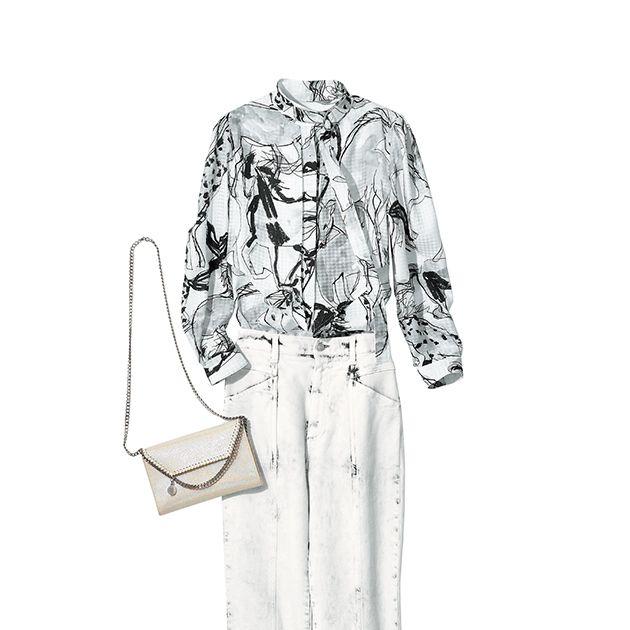 Clothing, White, Fashion illustration, Sleeve, Dress, Sketch, Pattern, Design, Footwear, Illustration,