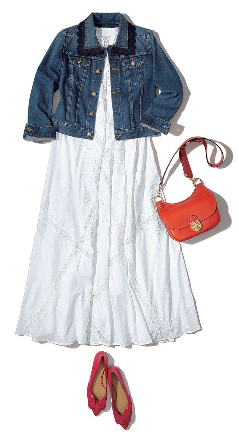 Clothing, White, Denim, Jeans, Footwear, Outerwear, Textile, Shoe, Sleeve, Dress,