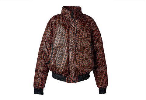 Clothing, Outerwear, Jacket, Brown, Sleeve, Maroon, Woolen, Wool, Top, Collar,